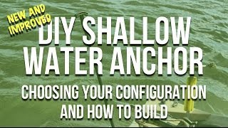 DIY Shallow Water Anchor Parts - What You Need To Build Anchor Pins