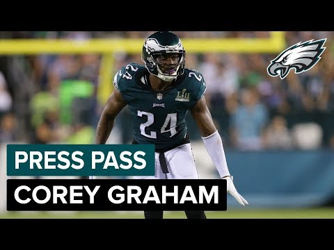 S Corey Graham 'Prepared' To Step Up If Called Upon | Eagles Press Pass