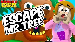 Roblox Escape Mr. Tree Obby With Baby Kira! - The Toy Heroes Games