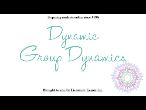 Group Dynamics - ASWB, NCE, NCMHCE, MFT Exam Prep and Review