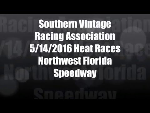 Southern Vintage Racing Association 5 14 16 Heat Races NWFL Speedway