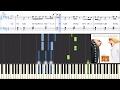 Pharrell Williams Yellow Light Despicable Me 3 Synthesia Piano Tutorial W Lyrics mp3