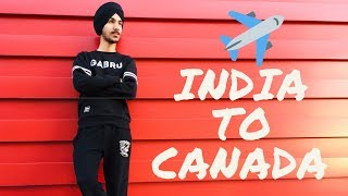 India to Canada Journey (punjab/saskatchewan)