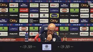 Cagliari-Atalanta, la conferenza stampa pre-gara