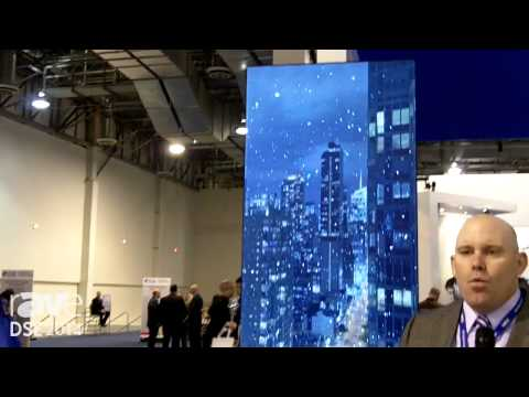 DSE 2014: NEC Exhibits Its New Augmented 4K Video Wall