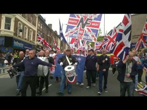 Wakefield National Front march