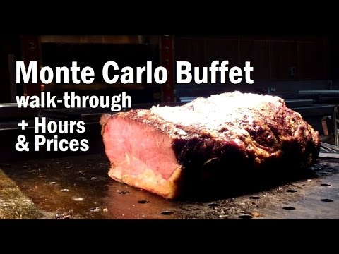monte carlo vegas buffet lunch hours prices youtube rh youtube com monte carlo buffet pricing monte carlo buffet prices 2017