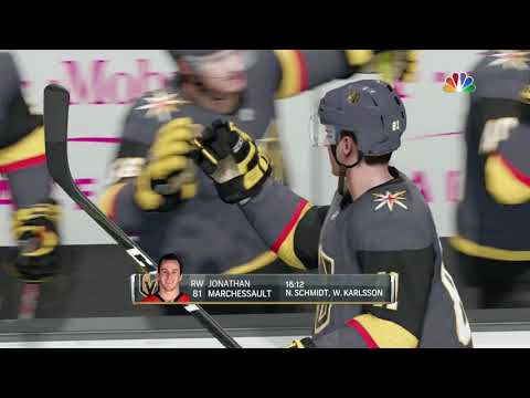 NHL 18 Stanley Cup Play0ffs Game 1 Los Angeles Kings vs Vegas Golden Knights 04 11 2018