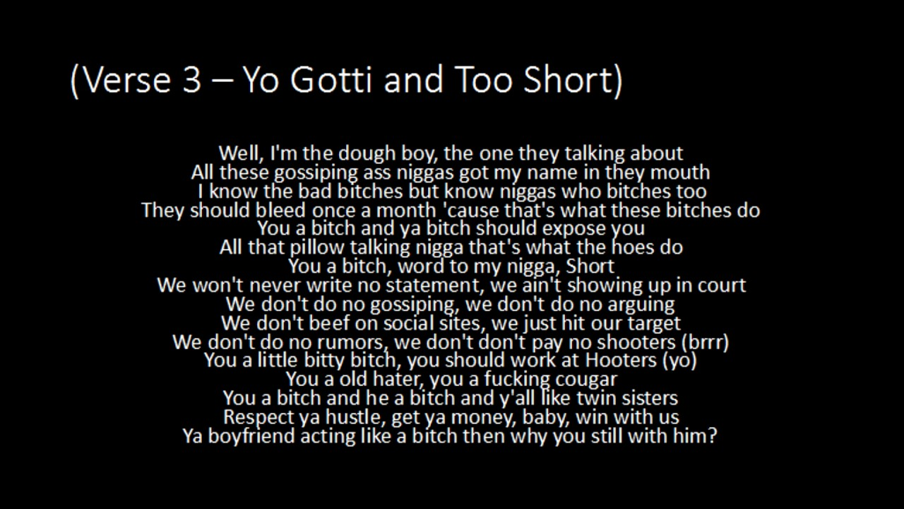 Yo Gotti - Rake It Up ft. Nicki Minaj and Too Short - Lyrics - YouTube