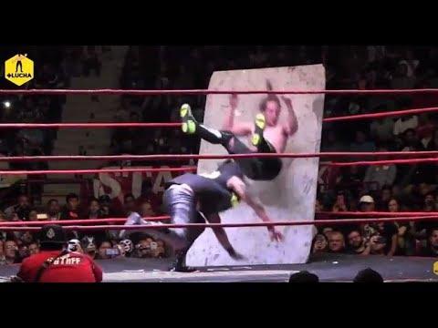 Bestia 666 vs Jack Evans, cabellera vs cabellera en The Crash 6to Aniversario