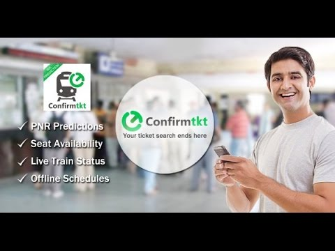 Need a Confirmed Train Ticket? This Startup's ConfirmTkt can help !!