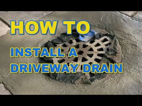 How To Install A Driveway Drain