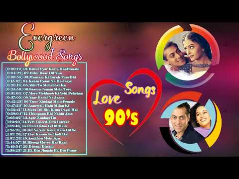 Bollywood 90s Evergreen Songs   90s Evergreen Melodies   90s Unforgettable Golden Hits