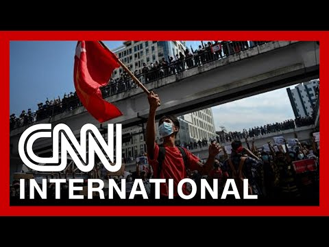 CNNi: Myanmar military imposes curfew on major cities