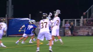 Towson Men's Lacrosse Defeats The University of Delaware in Overtime 9-8