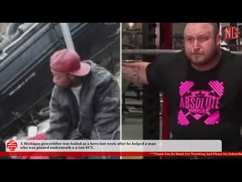 Bama, Rob & Heather - C'mon Get Happy: Power Lifter Moves SUV to Save Driver!