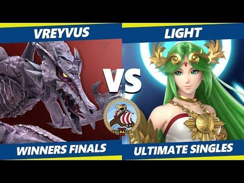 Smash Ultimate Tournament - Vreyvus (Ridley) Vs. myR | Light (Palutena) Valhalla II SSBU W. Finals thumbnail