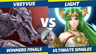 Smash Ultimate Tournament - Vreyvus (Ridley) Vs. myR | Light (Palutena) Valhalla II SSBU W. Finals