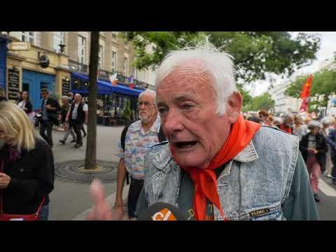 Manifestation des retraités contre les réformes de Macron (14 juin 2018, Paris)