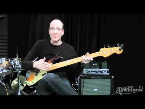 Garth Fielding on XL Half Rounds Bass Strings
