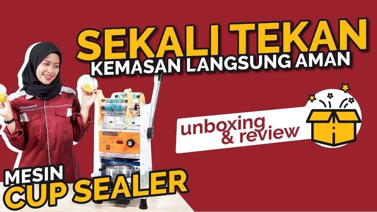 Unboxing & Review Cup Sealer, Cup Sealer, 0822 2330 3939