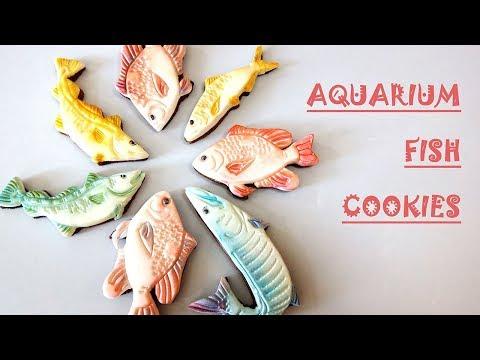 Aquarium Fish Cookies/ Marzipan Candies