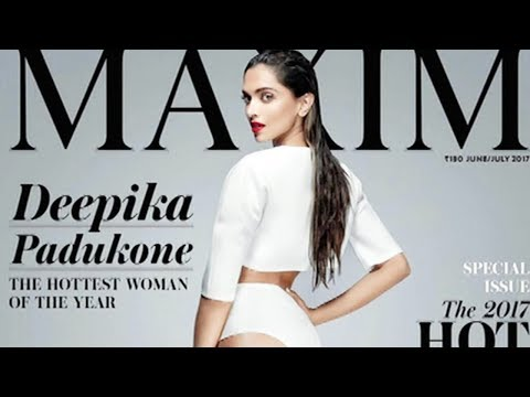 Deepika Padukone On Maxim Magazine Cover Page At 100 List