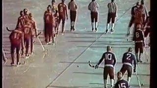 Док.фильм о хоккее с мячом-1981г.«ЖАРКИЙ ЛЁД»