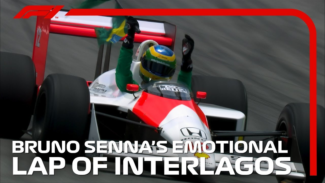Bruno Senna's Emotional Lap Of Interlagos | 2019 Brazilian Grand Prix