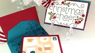 Simply Simple Christmas Cheer Gift Card Holder by Connie Stewart