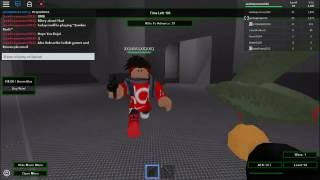 ROBLOX Zombie Rush! with a cool glitch!