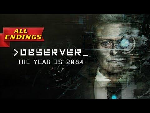 Observer Both Endings - Observer All Endings