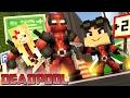Minecraft: Who's Your Family?- A FAMILIA DOIDA DO DEADPOOL