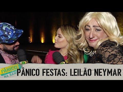 PÂNICO FESTAS: LEILÃO DO NEYMAR (C/ CHRISTIAN PIOR E PAULA AYALA)