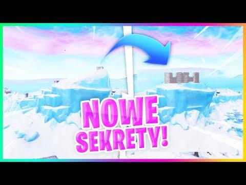 GÓRA LODOWA SIĘ TOPI! SEKRETY NOWEJ MAPY.. - Fortnite Battle Royale
