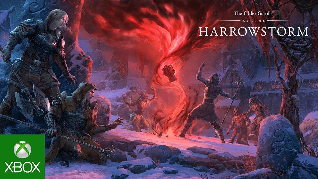 Assistir - The Elder Scrolls Online: Harrowstorm Gameplay Trailer - online
