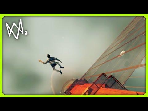 WATCH DOGS 2 FREE ROAM - JUMPING OFF GOLDEN GATE BRIDGE | #15 (Watch Dogs 2 Free Roam Gameplay)