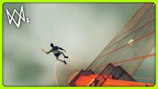 JUMPING OFF THE GOLDEN GATE BRIDGE | Watch Dogs 2 Free Roam