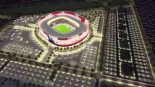 ملاعب قطر الجديده 2022 - qatar 2022 bid