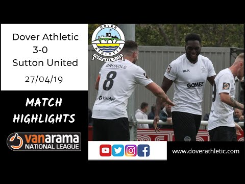 Highlights: Dover Athletic 3-0 Sutton United