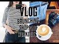 VLOG: Brunching, Shopping, Outfits | emilyOandbows