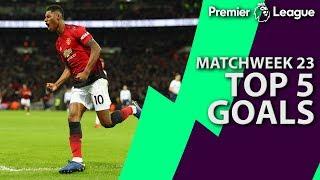 Top 5 goals of Premier League Matchweek 23   NBC Sports