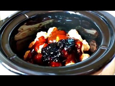 How to make barbecue sauce using grape jelly