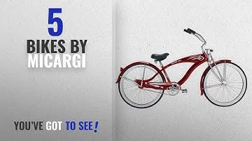 Top 10 Micargi Bikes [2018]: Micargi GTS Beach Cruiser Bike, Red Falcon, 26-Inch