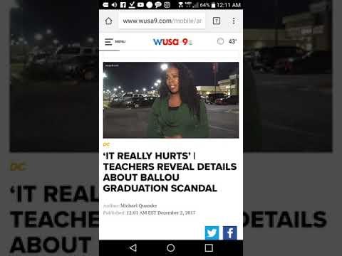 Inside the fake grades scandal at Ballou Senior High School in Washington D.C.