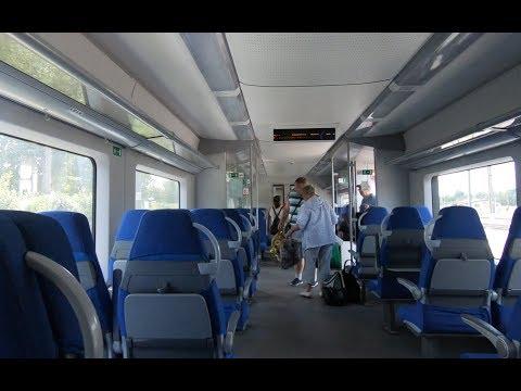 ЭС2Г-018, маршрут: Луга-1 - Санкт-Петербург (Экспресс)