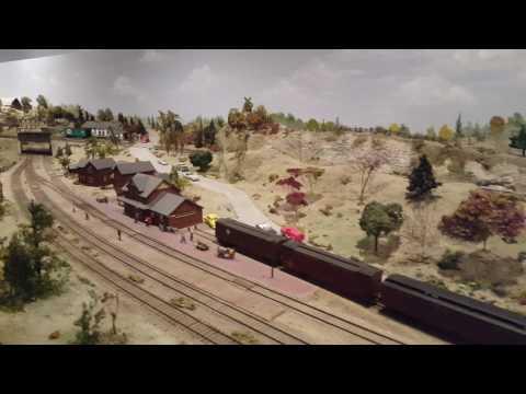 Aberfoyle Saint Jacob's model railway