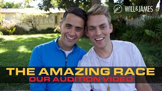 Our Amazing Race Audition Video | Will and James