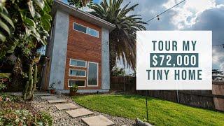 A Look Inside My $72,000 Los Angeles Tiny Home | Tiny House Vlog #1