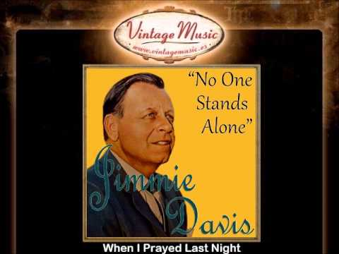 Jimmie Davis -- When I Prayed Last Night